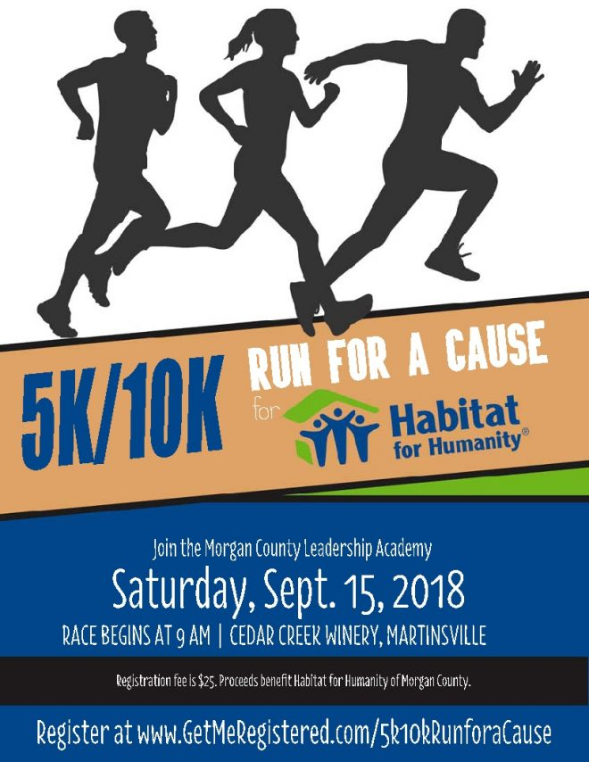 5k/10k Run for a Cause @ Cedar Creek Winery